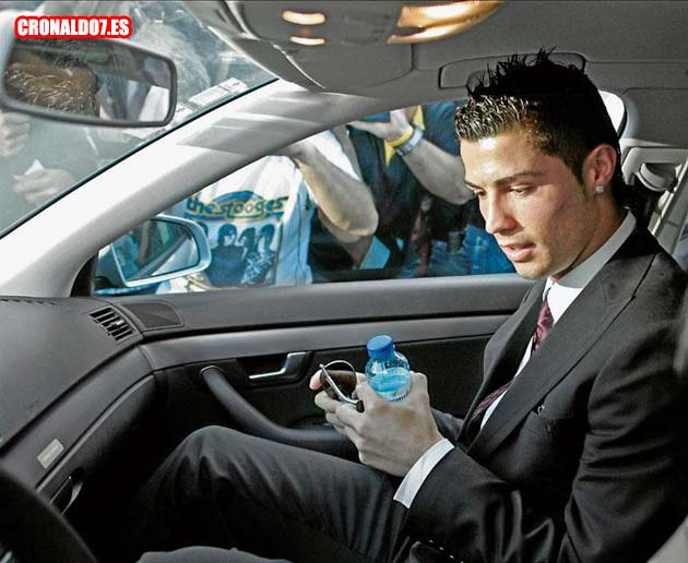 El coche de Cristiano Ronaldo