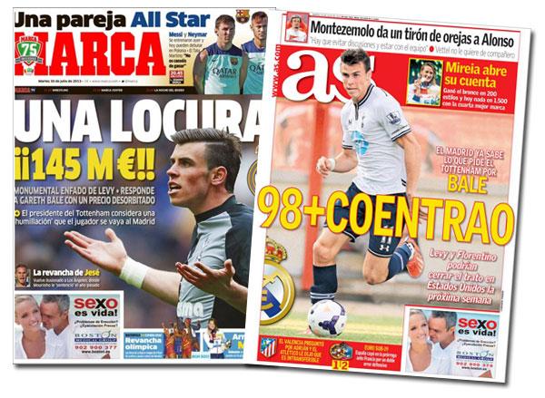 ¿Cuánto cuesta Gareth Bale?