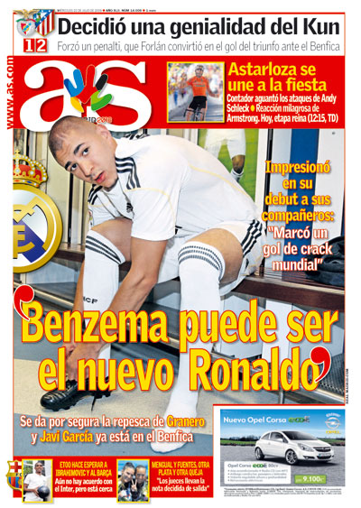 Benzema puede ser el nuevo Ronaldo