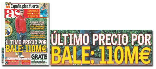 ¿Cuánto ha costado Gareth Bale?