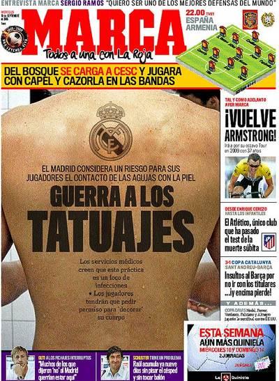 Guerra a los tatuajes