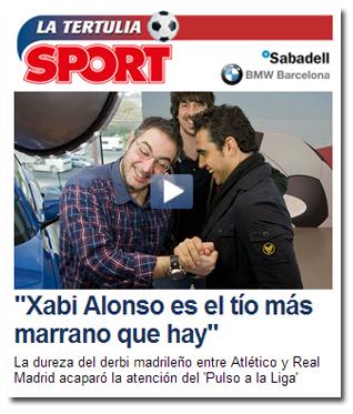 Lluís Mascaró sobre Xabi Alonso
