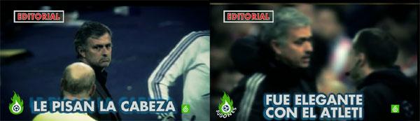 José Mourinho en Jugones