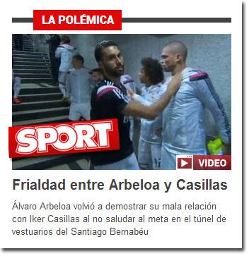Arbeloa y Casillas