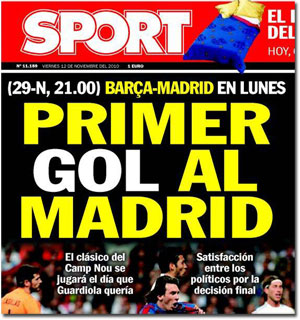 Gol al Madrid