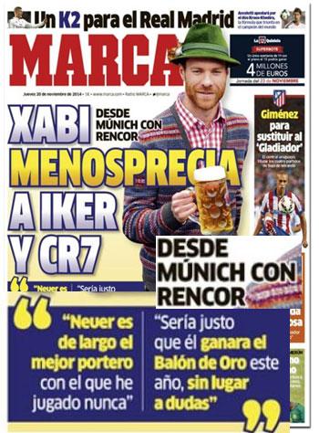 Xabi Alonso, desde Múnich con rencor