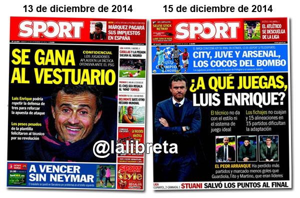 Luis Enrique en Sport
