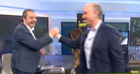 Josep Pedrerol y Eduardo Inda