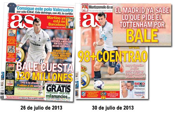 El fichaje de Gareth Bale en As