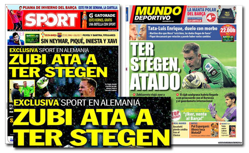 Ter Stegen ficha por el Barça
