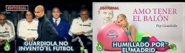 Pep Guardiola en Jugones