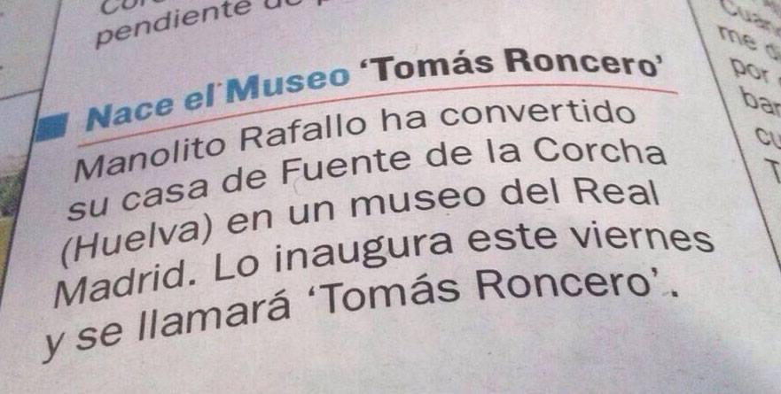 Museo Tomás Roncero