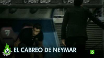 El cabreo de Neymar