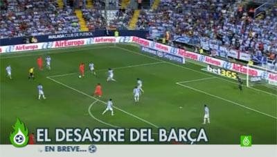 El desastre del Barça