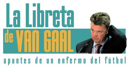 Primera cabecera de La Libreta de Van Gaal