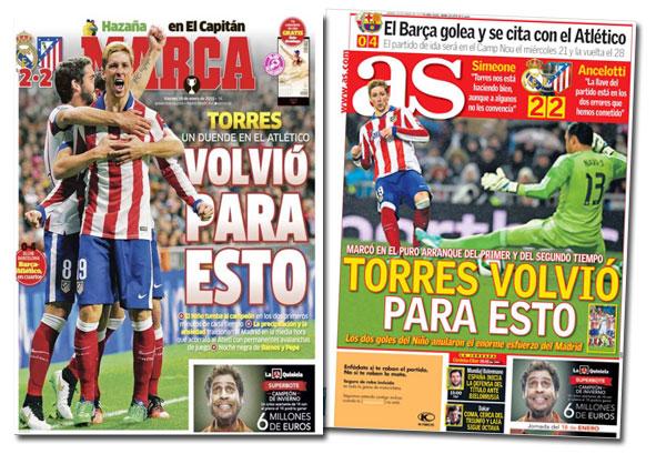 Fernando Torres en As y Marca