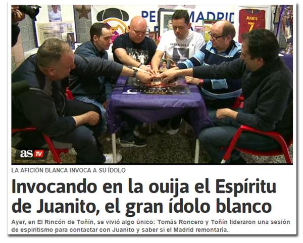 La ouija de Juanito