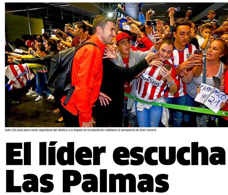 El Atlético escucha Las Palmas