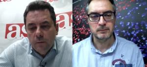 Tomás Roncero y Lluís Mascaró