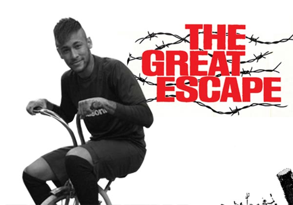 La fuga de Neymar