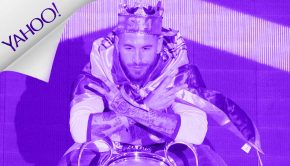 Sergio Ramos, coronado