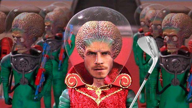 Bale, marciano y golfista