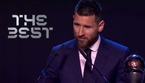 Leo Messi, premio FIFA The Best