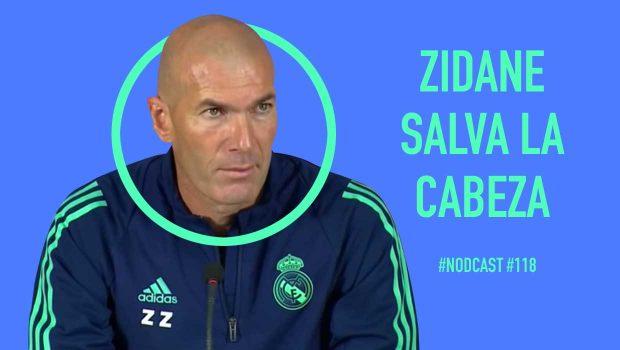 Zidane salva la cabeza