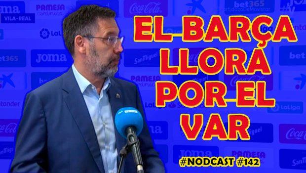El Barça llora por el VAR